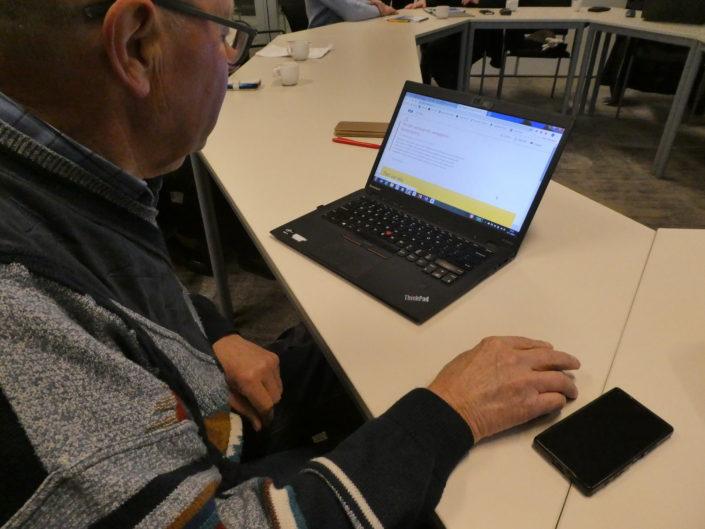 Vrijwilliger Computervaardigheid