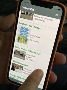 LeusdenLeeft app
